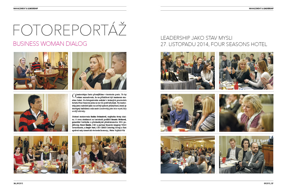 Photoreportage Business Woman Dialog: Leadership as a mind-set