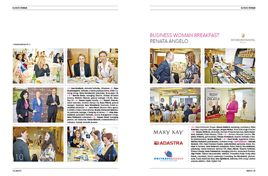 Photoreportage Business Woman Breakfast: Renata Angelo