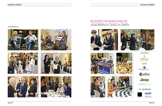 Photoreportage 	Business Woman Dialog: Leaders in times of change