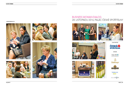 Fotoreport Business Woman Dialog: Spolupráce, nebo soutěž?