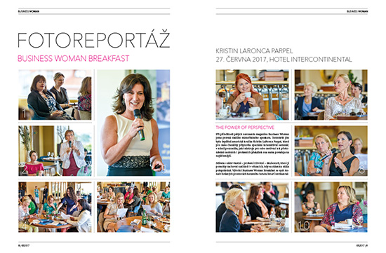 Photoreportage Business Woman Breakfast: Kristin LaRonca Parpel
