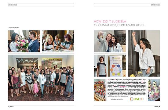 Fotoreport How I Did It: Lucie Bílá