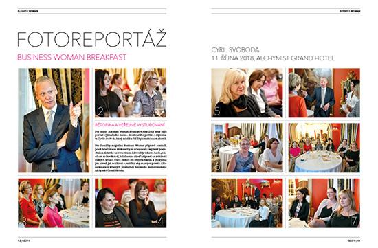 Fotoreport Business Woman Breakfast: Cyril Svoboda